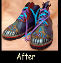 After Repair of Shoe