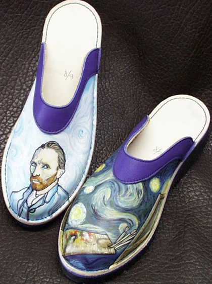 Those vanGogh shoes